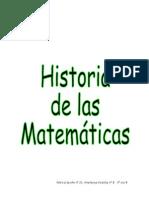 História de las Matemáticas