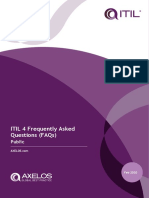 ITIL 4 public FAQs