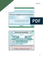 Aula em PDF - Dicas para apresentação