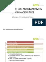 AUTOMATISMOS COMBINACIONALES