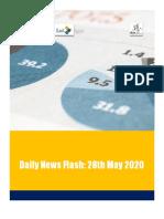 Bangladesh News Flash - 280520