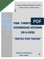 PTDI Viacha 2016-2020