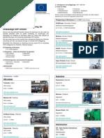 INFO HighBio 44 Tillverkare av utrustning för småskaliga CHP enheter