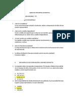 BANCO DE PREGUNTAS ESTADISTICA