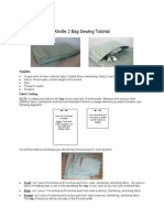 78bcf9d0b0b5 Kindle 2 Bag Sewing Tutorial doc
