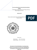 MAKALAH Pendidikan Matematika Realistik Indonesia (PMRI