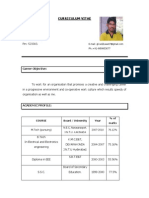 Koti Reddy Resume