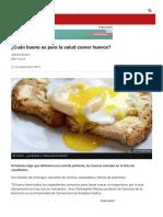 ¿Cuán bueno es para la salud comer huevos_ - BBC News Mundo060657
