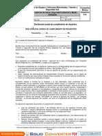 DC112 Equipo Motorizado, Tránsito, y Seguridad Vial (13)