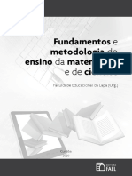 Livro - Fundamentos e Metodologia do Ensino da Matematica e de Ciencias