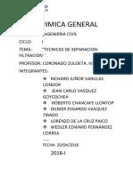 TRABAJO DE QUIMICA GENERAL