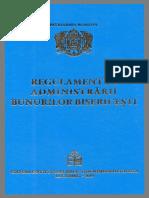 Regulamentul administrării bunurilor bisericești (2019) (1)