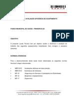 LAUDO - FUNDO MUNICIAL DE SAUDE PINHEIROS