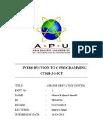 c Programming Reportmufti
