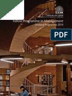 FPM Brochure 2015-16 | Thesis | Strategic Management