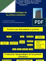 Radiología prótesis articulares
