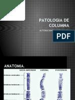 PATOLOGIA DE COLUMNA diapositivas