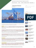 11 Conceptos facturados en las Operaciones Portuarias - Manual de Comercio Exterior
