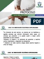 PROTOCOLO ATENCION TELEFONICA