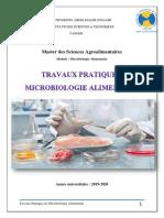 Polycopié_TP Microbiologie alimentaire pdf