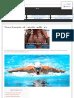 Tecnicas basicas de natación y otras complementarias