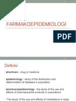 Farmakoepidemiologi dan Farmakoekonomi