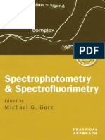 Michael G. Gore - Spectrophotometry and Spectrofluorimetry_ a Practical Approach-Oxford University Press, USA (2000)