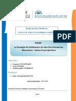 Les stratégies de fiddélisation des entreprises de communication-Louis DJAKPA,Mémoire 2017-2018