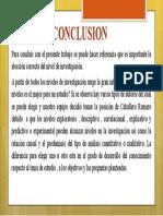 conclusion evelinnnnnn