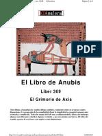 El Libro De Anubis - Liber369 Grimorio De Axis.pdf