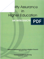 Quality Assurance in Higher Education Book