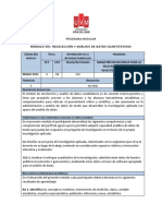 programa recoleccion y analisis de datos cuantitativos