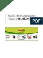 Analysis of Communication Process of HAMKO Group.docx