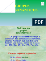PPT Grupos Consonanticos 2do basico