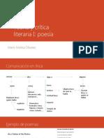 Teoría y crítica literaria lírica
