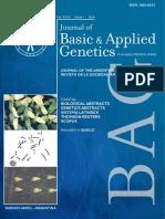 Dinamica del daño en el adn en leucocitos de equinos spc sometidos a un test de ejercicio estandarizado. Basic and Applied Genetics.pdf