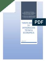 Mercado Electrico Aclaraciones - Tarifa Basica