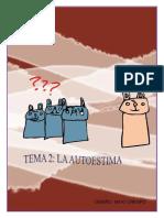 TEMA 2.- AUTOESTIMA