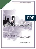TEMA 4.- RESOLUCIÓN DE CONFLICTOS