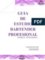 GUIA Bartender profesional