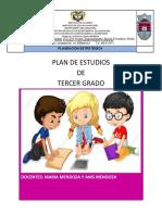 PLAN DE ESTUDIO DE ETICA Y  RELIGION