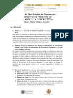 Tablas de Distribución de Frecuencias, estadistica descriptiva