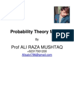Probility Theory MID PAPER SPRING 2020