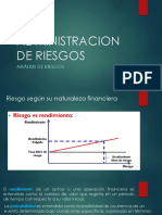 Administración y Análisis de riesgos