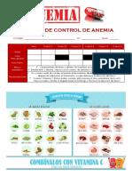 TARJETA DE CONTROL DE ANEMIA PARCOY