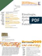 Etnologie Antropologie Culturala Si Folclor