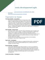 Compte Rendu Developpement Agile