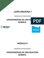 Sesión síncrona 7  Expontaneidad de una reaccion química.pptx