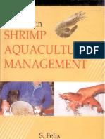 Advances in Shrimp Aquaculture Management by Felix S