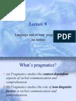 Chapter 12 Pragmatic